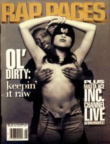 ODB on the cover of Rap Pages